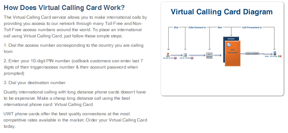 call anywhere with low international rates - Phone Card For International Calls