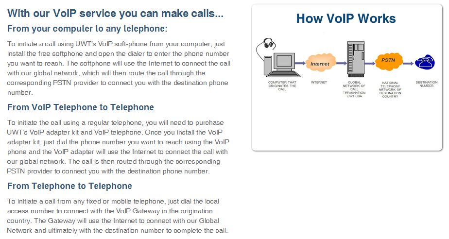 VoIP Service - VoIP Phone, Free VoIP Software and VoIP Reseller